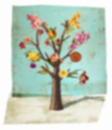 Hubert Warter - Illustration - Baum - Blumen - Fake - Täuschung - Irreführung - Tree - Flowers - Fake - Deception - Misleading
