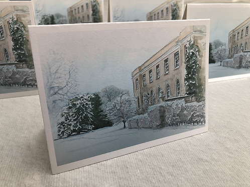 Winter, Fulham Palace - A6 Card Individual (Landscape)
