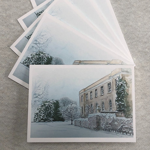 Winter, Fulham Palace - A6 Cards - Pack of 10 (Landscape)