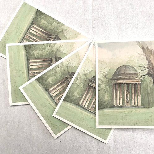 Stowe, The Rotunda - A6 Cards - Pack of 10 (Portrait)