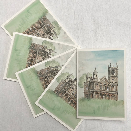 Stowe, Gothic Temple - A6 Cards - Pack of 10 (Portrait)