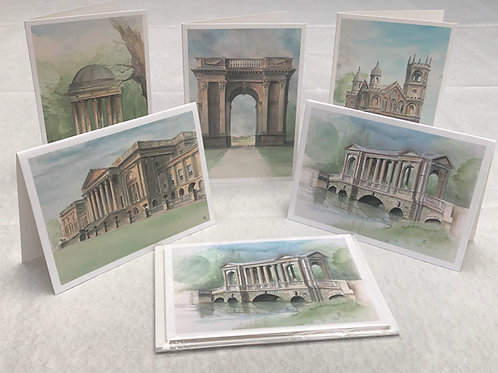 Stowe Collection - A6 Cards - Pack of 10