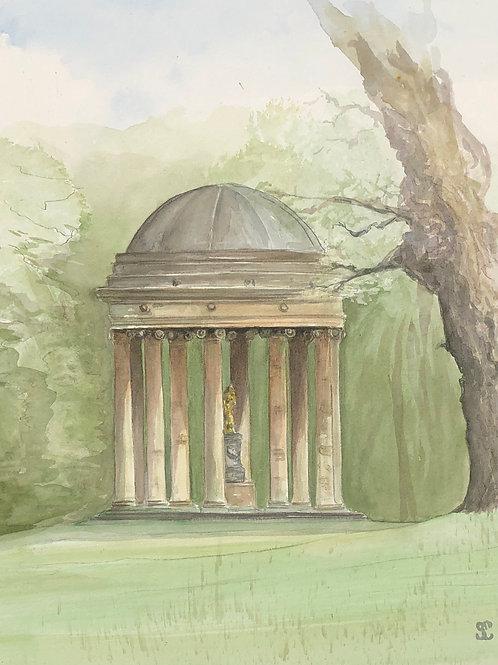Stowe, The Rotunda - A6 Card Individual (Portrait)