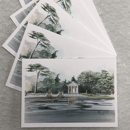 Winter, Gunnersbury Park - A6 Cards - Pack of 5 (Landscape)