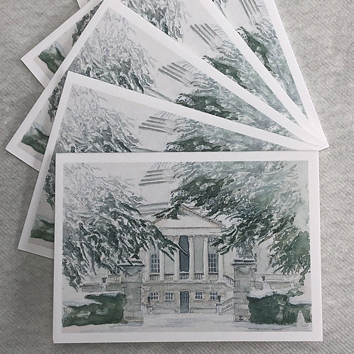 Winter, Chiswick House - A6 Cards - Pack of 10 (Landscape)