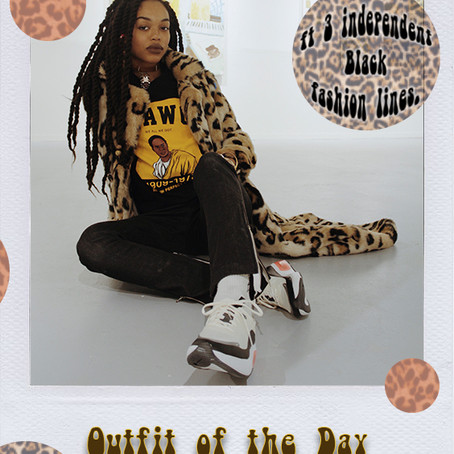 3 Independent Black fashion lines + New Airmax Dia #ootd