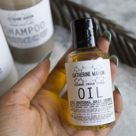 Trying 100% Natural Haircare... I LOVE it!