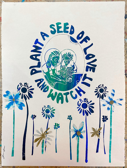 Plant A Seed Print