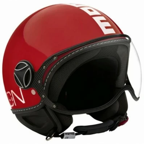 CASCO MOMO  CLS RED LUCIDO