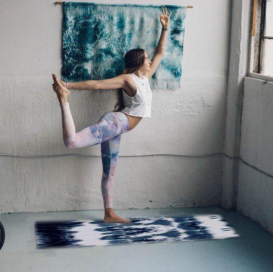Shibori Neue Yoga Mat