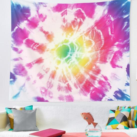 Sunburst Rainbow Tapestry