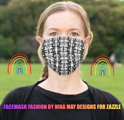 Face Masks by Nina for Zazzle