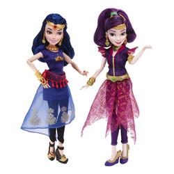 Mal and Evie Descendant Island Dolls