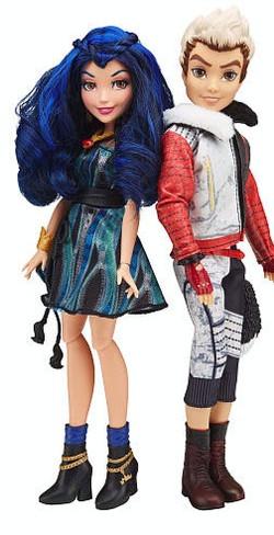 Evie & Carlos Disnet Descendants