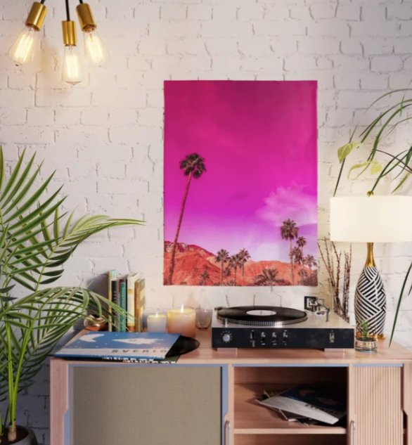 Palm Springs Rush Hour Poster