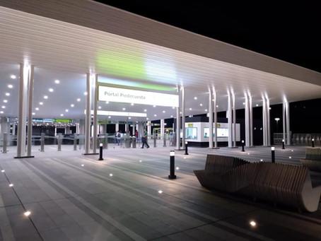 Completamos la inspección RETIE y RETILAP del nuevo portal de Metrolínea en Piedecuesta