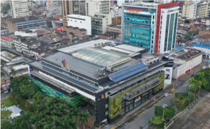 Certificamos sistema fotovoltaico del centro Comercial Victoria en Pereira