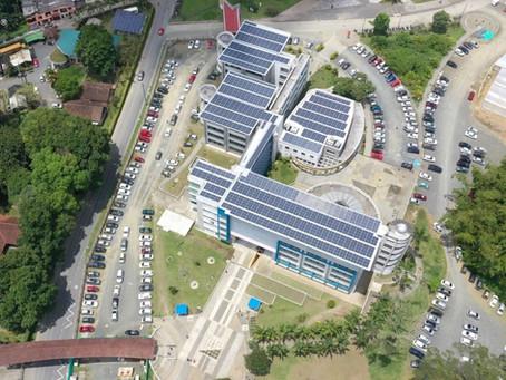 Completamos la inspección del sistema solar fotovoltaico de la universidad de Pereira