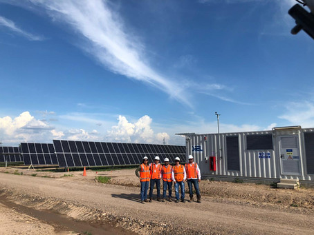 Certificamos una de las plantas solares fotovoltaicas mas importantes de Colombia
