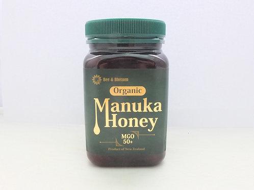有機麥蘆卡蜂蜜 MGO50+ 每樽(500克)