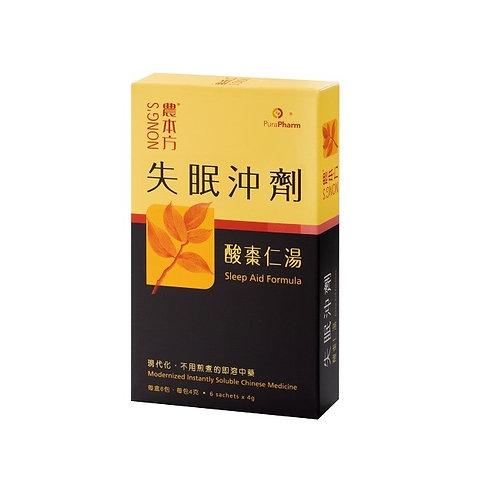 農本方-失眠沖劑 酸棗仁湯 每盒 (6包)