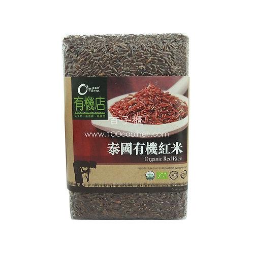 泰國有機紅米 每包 (1公斤)