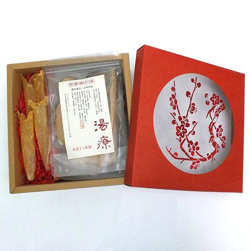 野黨蟲草花燉花膠螺片禮盒 每盒(2包)