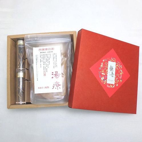 冬蟲夏草野黨燉螺片禮盒 每盒(4包)
