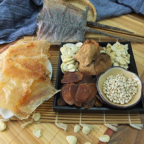 [特色藥饍] 川貝參蛤燉鱷魚肉湯 (2人份量) 每包(69克)