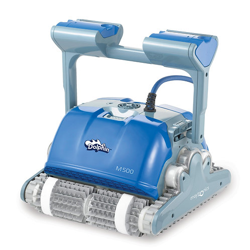Dolphin_Robotic_Pool_Cleaners; Dolphin_Supreme_M500