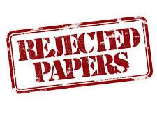 Votre article a été rejeté ? Quelle est la procédure à suivre ?