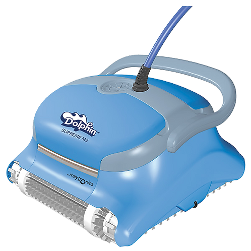 Dolphin_Robotic_Pool_Cleaners; Dolphin_Supreme_M3