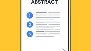 Conseils pour la rédaction d'un résumé (Abstract)