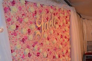 mur de fleur