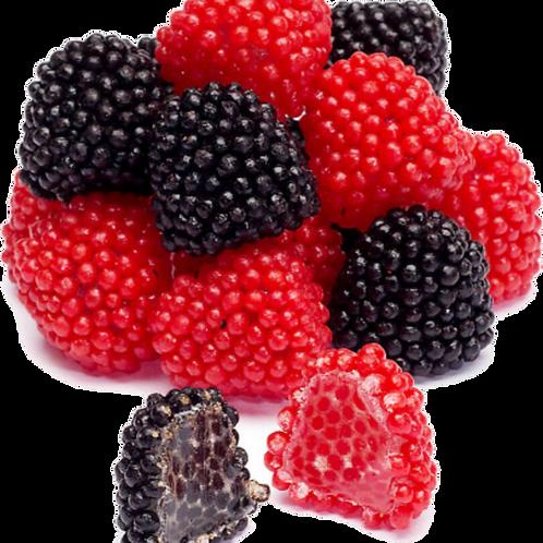 Gummy Red & Black Raspberries