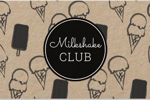 Milkshake a Month Club