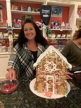 gingerbread house-workshop