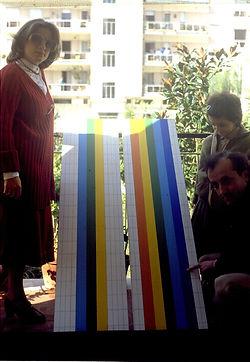 1980 De Tora con Stefania e Tiziana e  l