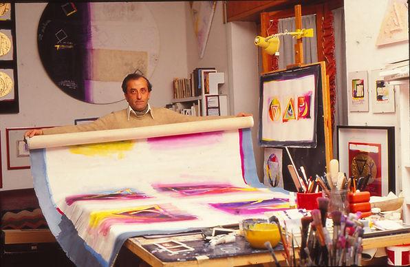 1985 - De Tora in studio.jpg
