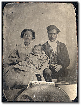 Unidentified Black Family, Archives of O