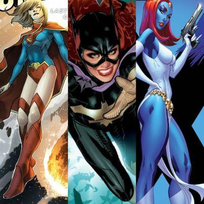 Supergirl, Batgirl, Mystique: Initiating Imitation