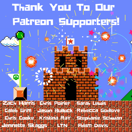 Thank You Patreon Supporters!