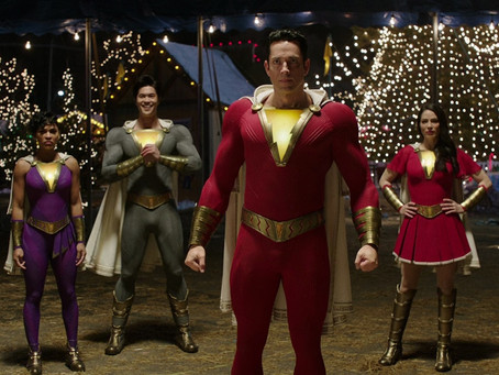 Shazam: The Touch of Captain Sparkle Fingers