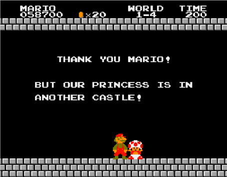 Mario & Link: The Princess Is In Another Castle