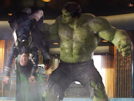 Loki, Hulk, and Temptation.