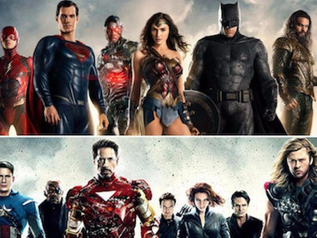 Justice League/Avengers – Strength In Numbers