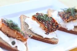 Seasoned Smoked Salmon