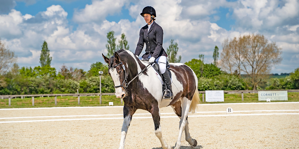FULLY BOOKED - DRESSAGE TEST RIDING WITH TAMSIN ADDISON AND STEPHEN MOORE (Judge)