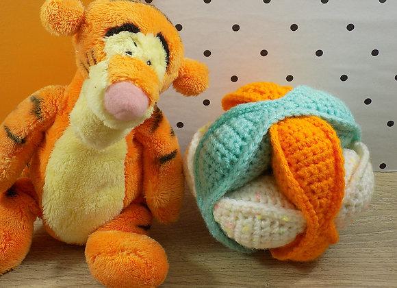 Balle Orange et Bleue Montessori