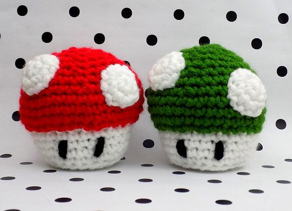 Peluche champignon de Mario